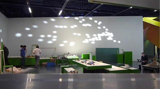 Kinetic Mirror Installation @ Ars Electronica Center