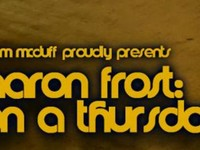 Aaron Frost on a Thursday.