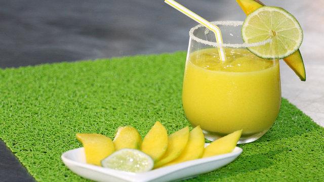 Receta: Limonada de mango