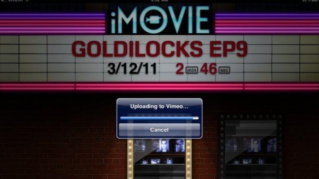 First iPad 2 Movie - Goldilocks