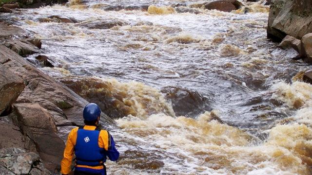 JUMP RIVER, BIG FALLS RAPIDS - THE TRAILER
