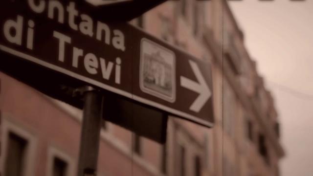 """""""In vacanza alla Fontana di Trevi"""" (Trevi Fountain Vacation)"""