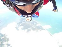Wingsuit Cloud Surfing over Panama