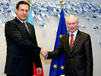 Meeting with Marian Lupu, President of the Republic of Moldova