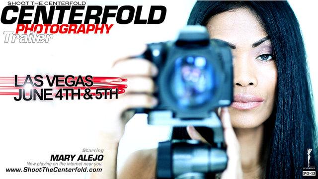 Shoot The Centerfold Las Vegas Trailer Starring Mary Alejo