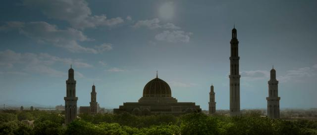GRAND MOSQUE MUSCAT HDR TIMELAPSE