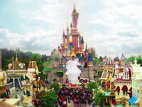 Tilt Shift de Disneyland Paris