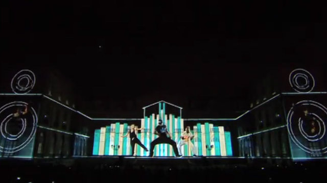 Adidas France - 3D Mapping Projection