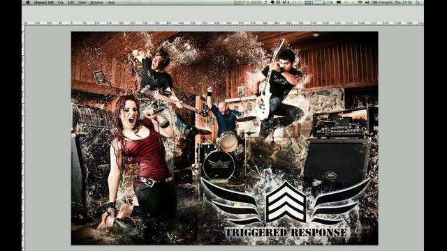 The photoshop behind an explosive band photoshoot! (Von Wong photography)