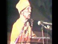 Speech by Swami Ranganathanandaji, 1993