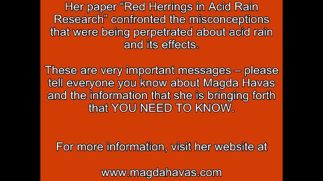 Dr Magda Havas, PhD - Microwave Radiation Dangers In Your Home