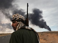 Photographer John Moore on 'Epic' Libya
