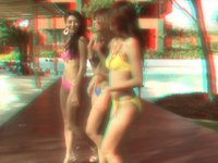 BIKINI GIRLS Vesrion 2.0 in 3D Anaglyph