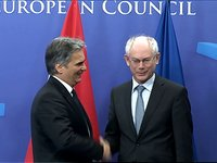 Meeting with Werner Faymann, Austrian Chancellor