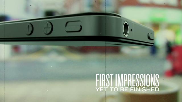 First Impressions - Consumerism