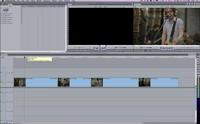 Fixing under exposed footage