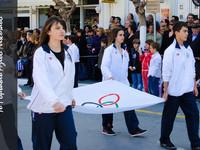 Το 1ο Γυμνάσιο στην παρέλαση της 25ης Μαρτίου (25-3-2011)