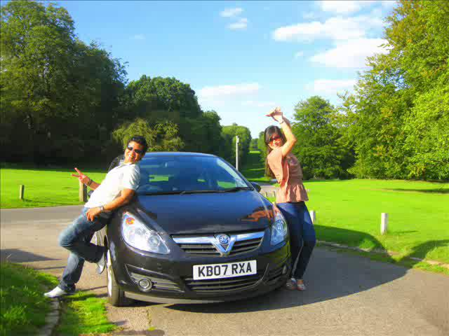 Roadtrip From English countrysides to the City of London
