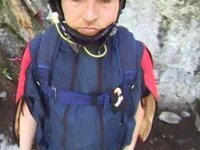 Darren Bull High Nose Wingsuit Solo
