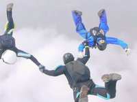 Panasonic Lumix GH2's first skydiving footage (I think, heh heh)