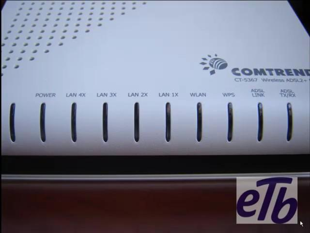 Router - Comtrend CT-5367 - Conexión y configuración