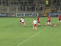 Tyrone draw level v Down, 2011
