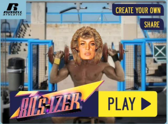 Russell Athletic 80sizer muscle beach body builder on Vimeo
