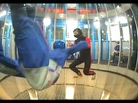 Indoor Skydiving First Training Session