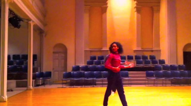 The Dance Enthusiast -A Dance Minute in St. Marks with Janis Brenner and Dancers