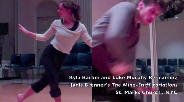 The Dance Enthusiast- A Luke and Kyla Side by Side Dance Minute