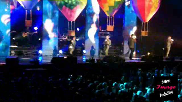 Westlife Live at The LG Arena, Birmingham - 25.03.2011 Part 2