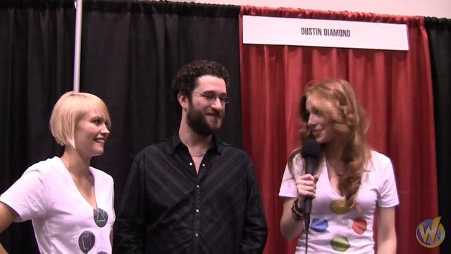 Wizard world girls interview dustin diamond (skeeter from saved by the