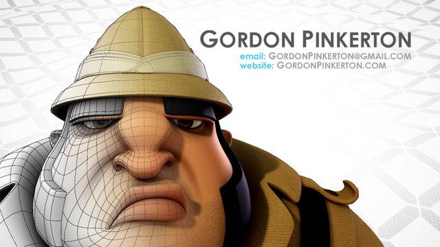 Gordon Pinkerton Modeling Reel 2011