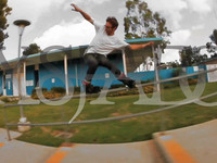 """Jeff has been blading non-stop around the world for years.  These lines were some extras he had while filming in 2010 with Brandon Negrete for his new 2 part section in upcoming DVD """"Regardless"""" (available June 2011)    Edit: Bra..."""