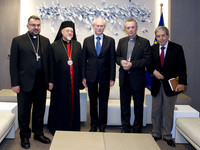 Meeting with religious leaders