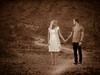 Nick and Shelby's Engagement Portraits in the Phoenix Arizona Desert