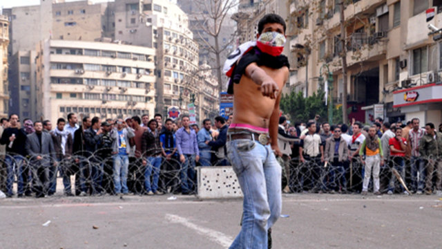 No Comment: Tahrir Square