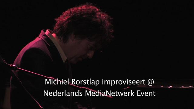 Michiel Borstlap @ Nederlands MediaNetwerk Event