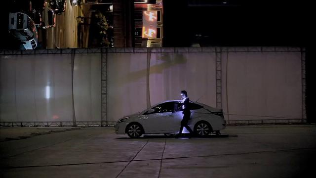 Hyundai Accent 3D projection mapping_making