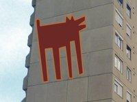 Kutyák a falon