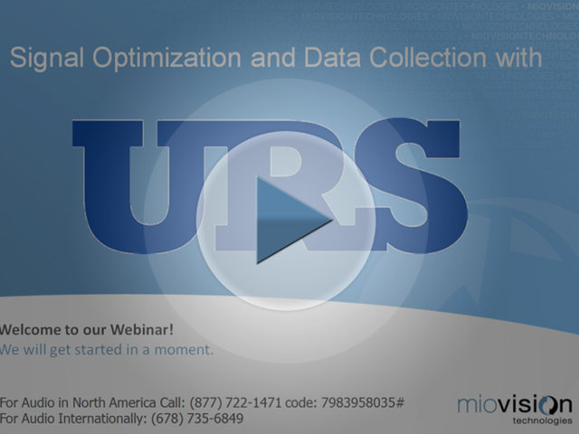 URS Corporation Signal Optimization Webinar
