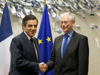 Meeting with Franois Fillon, French Prime Minister