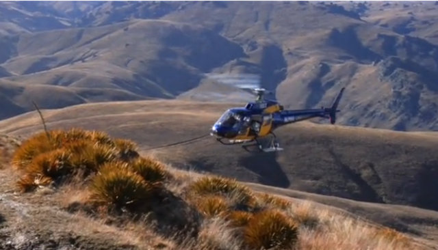 Telegraph: Heli Biking New Zealand