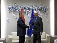 Meeting with Viktor Orban, Prime Minister of Hungary