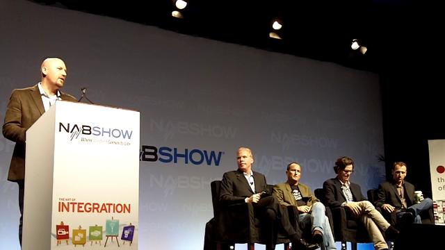 NAB Apps vs Web panel -- Daniel Odio moderating