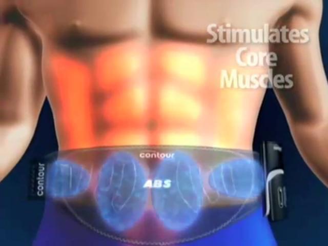 abs machine belt