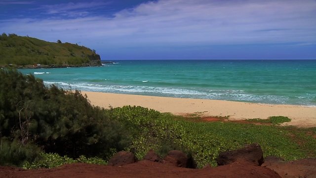 HD NATURE TV- HAWAII BEACHES - RELAXATION MUSIC VIDEO - PT 1 OF 4