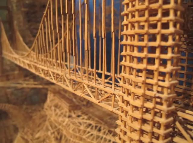 Video | Toothpick Sculpture