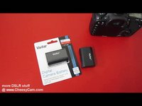 Vivitar - LP-E6 Battery