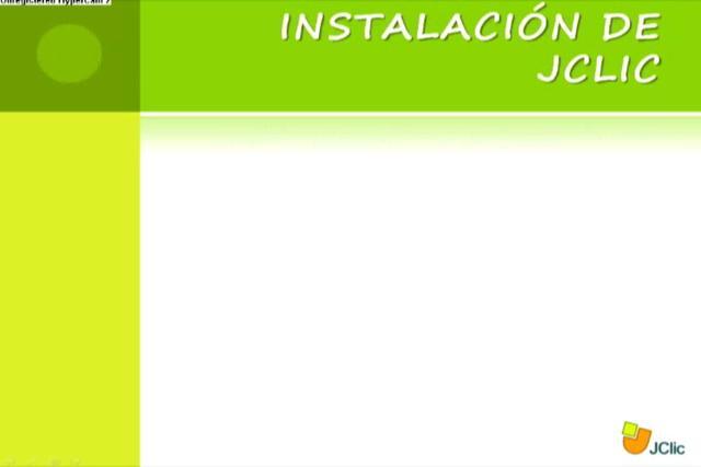 TUTORIAL DE ACTIVIDADES JCLIC on Vimeo
